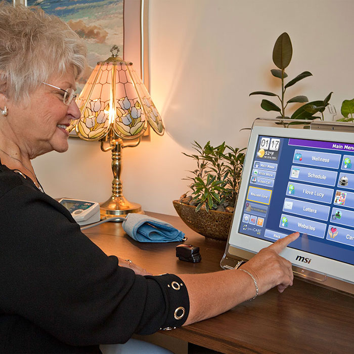 Telehealth and remote monitoring technology for senior living communities