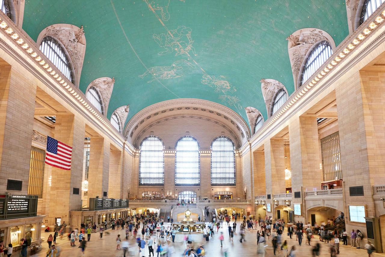 Ny Penn Station Interior Map