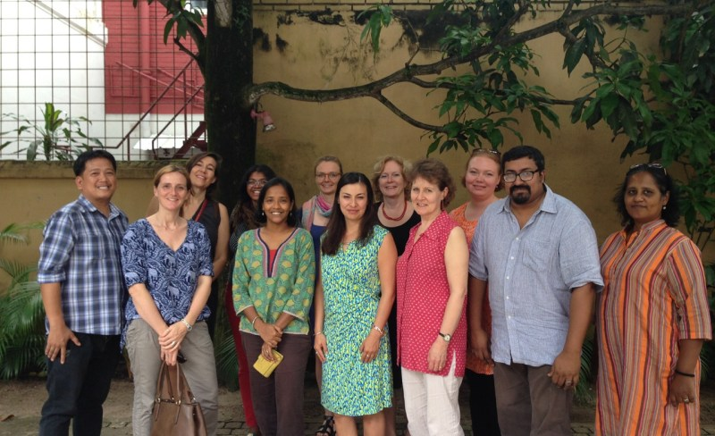 MHPSS.net online hosts and board members at their annual meeting in Sri Lanka in 2015.