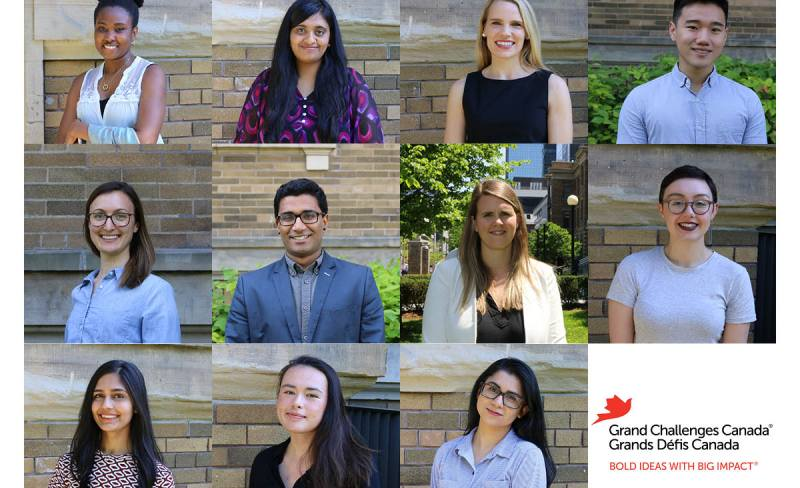 Grand Challenges Canada's Summer Students 2018