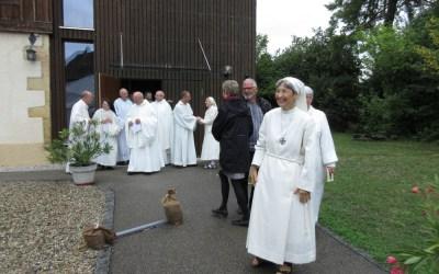 Eucharistie et Bénédiction de Sœur Anne-Emmanuelle, Prieure de la Communauté