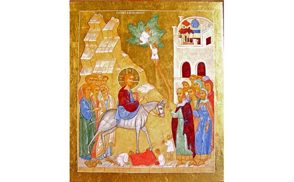 Homélie par le pasteur Pierre Bühler, dimanche des Rameaux, 14 avril 2019