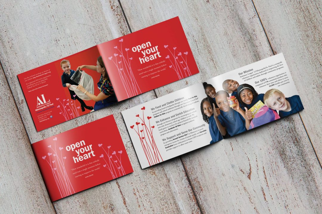 Open Your Heart Brochure Design 2014