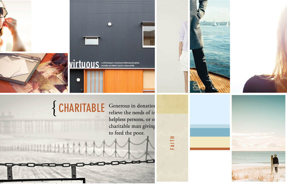 Branding Mood Board Example