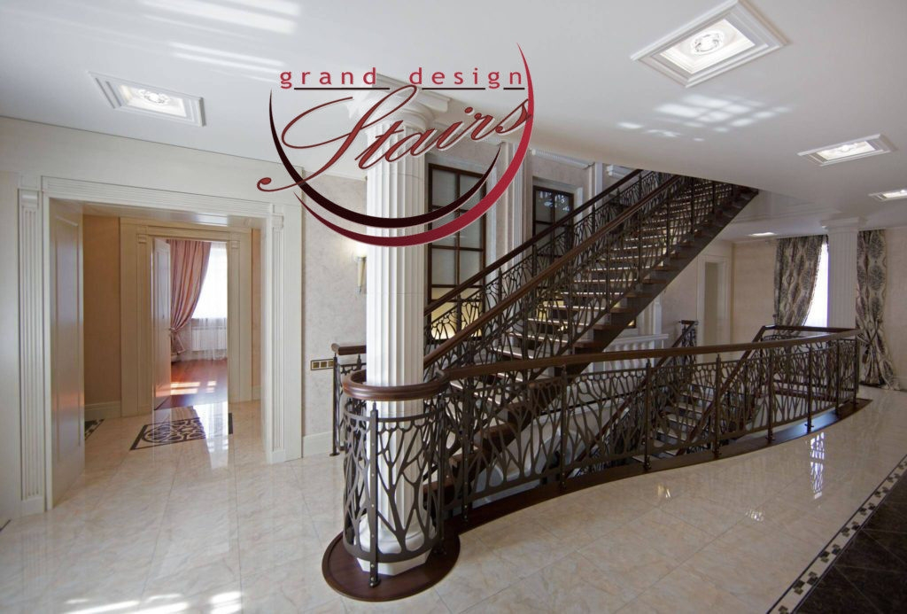 Grand Design Stairs Steel Marble Staircase In Russia   Steel Design For Stairs   Steel Railing   2 Story Steel   Step   Fancy   Low Cost