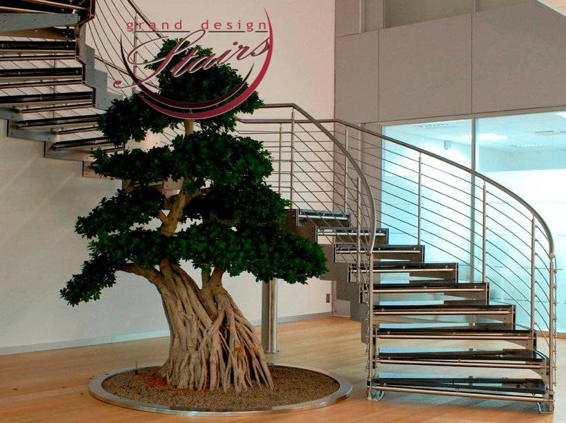 Custom Curved Staircases Models Prices Curved Stairs Costs   Glass Spiral Staircase Cost   Laminated Glass Railing   Stair Railing   Stainless Steel   Prefabricate Stainless   Low Cost