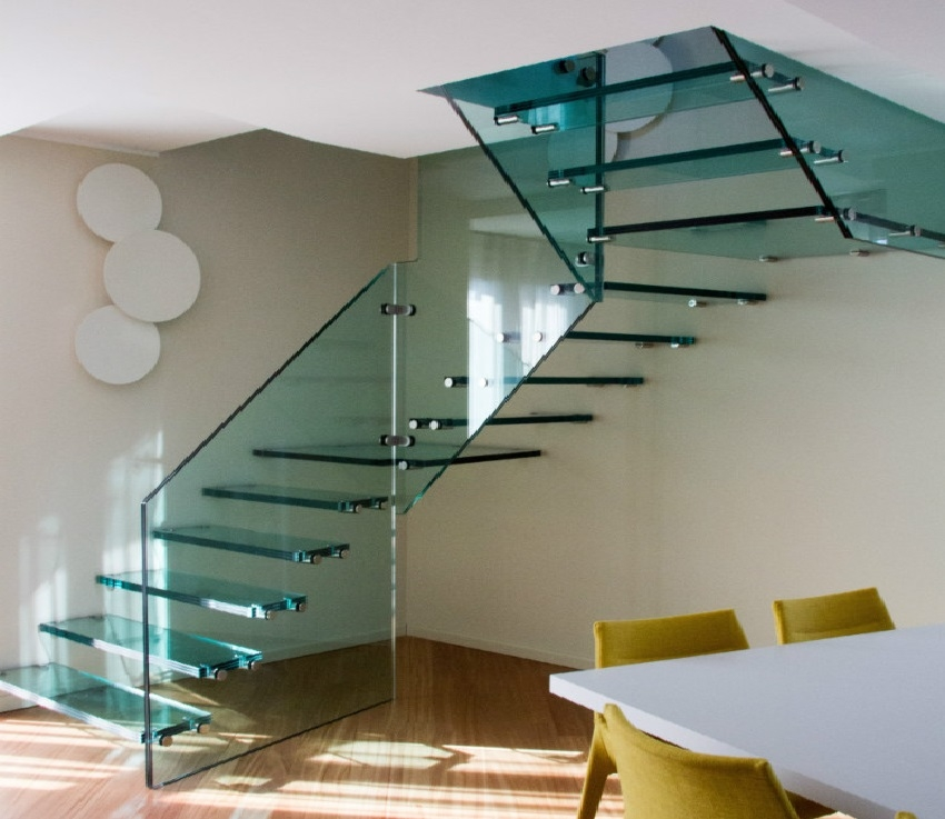 What Is The Price Of A Floating Staircase The Right Price Of | Structural Steel Stair Design | Steel Construction | 4 Column Steel | Detailing | Steel Staircase | Small Space