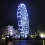 Location de Grande Roue 45m Bon voyage au marché de noël d'Orléans, illuminée