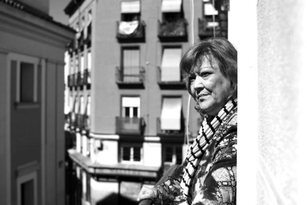 Marga Rivas pertenece a PAH Madrid