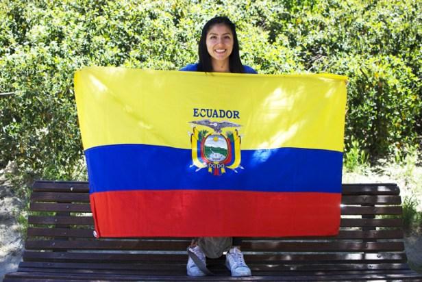 Andrea Serrano es hija de una madre migrante y fue una niña llave