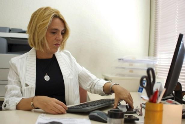 Ana Martínez tiene una enfermedad rara que afecta a los músculos