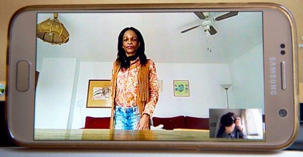 Cissy Miranda Amaro es una mujer trans que se quedó en la calle durante la crisis del coronavirus
