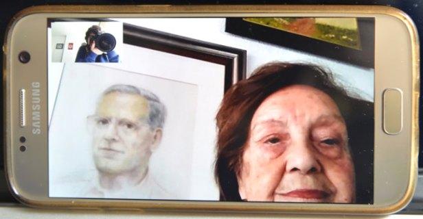 Concha Guervós de la Fuente tiene 88 años y vive sola