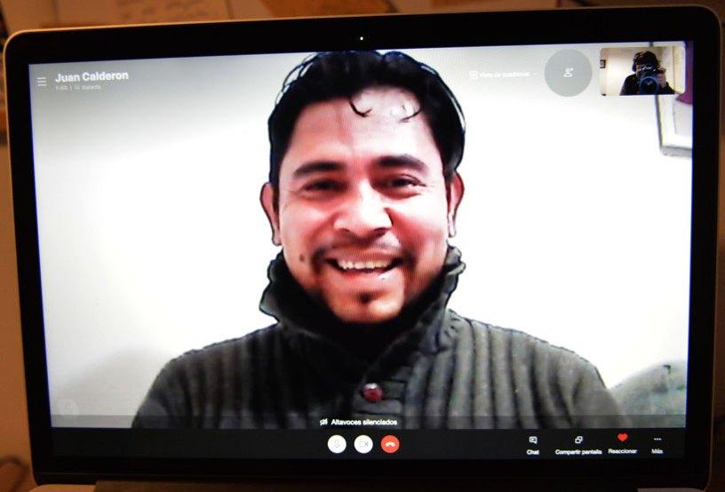 Juan Calderón Cardoza tuve que pedir asilo en España por ayudar a niños de la calle en Honduras