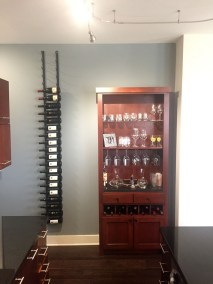 Vintage View racking and wine cabinet