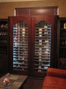 Wine Cabinet with Side Storage2