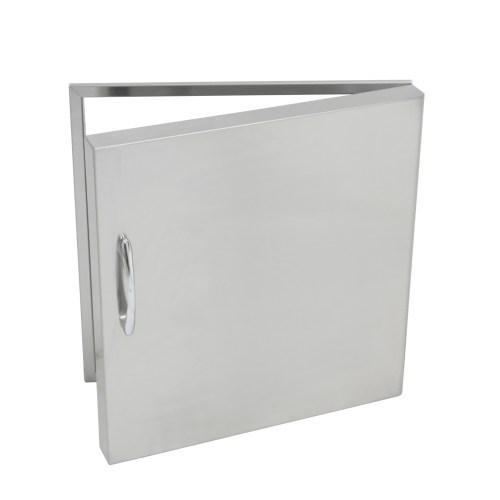 Stainless Steel Single Vertical Door