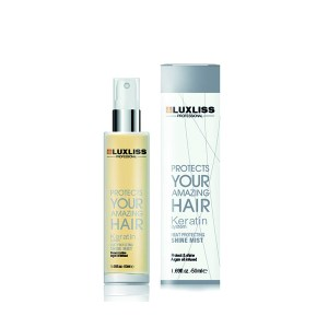 Luxliss Keratin Heat Protecting Shine Mist 50ml