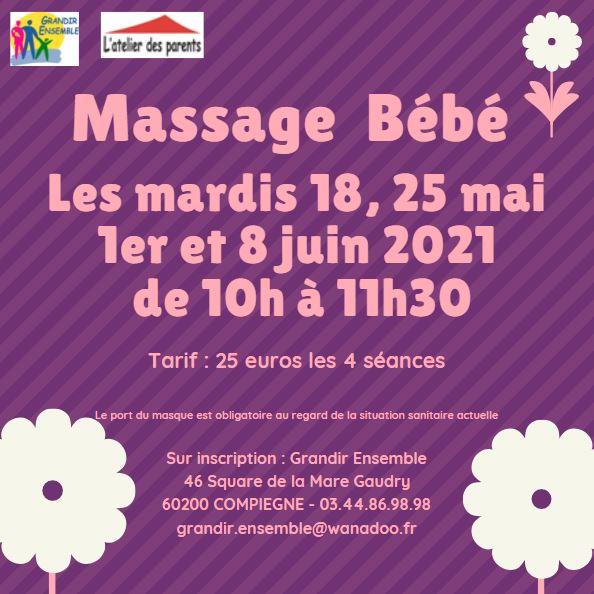 Cycle massage mai-juin 2021