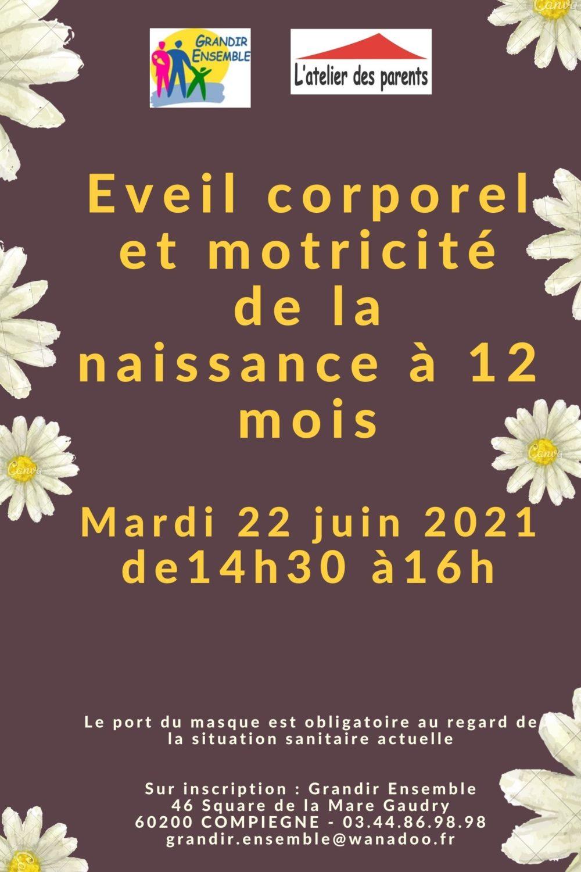 Eveil corporel du 22 juin 2021