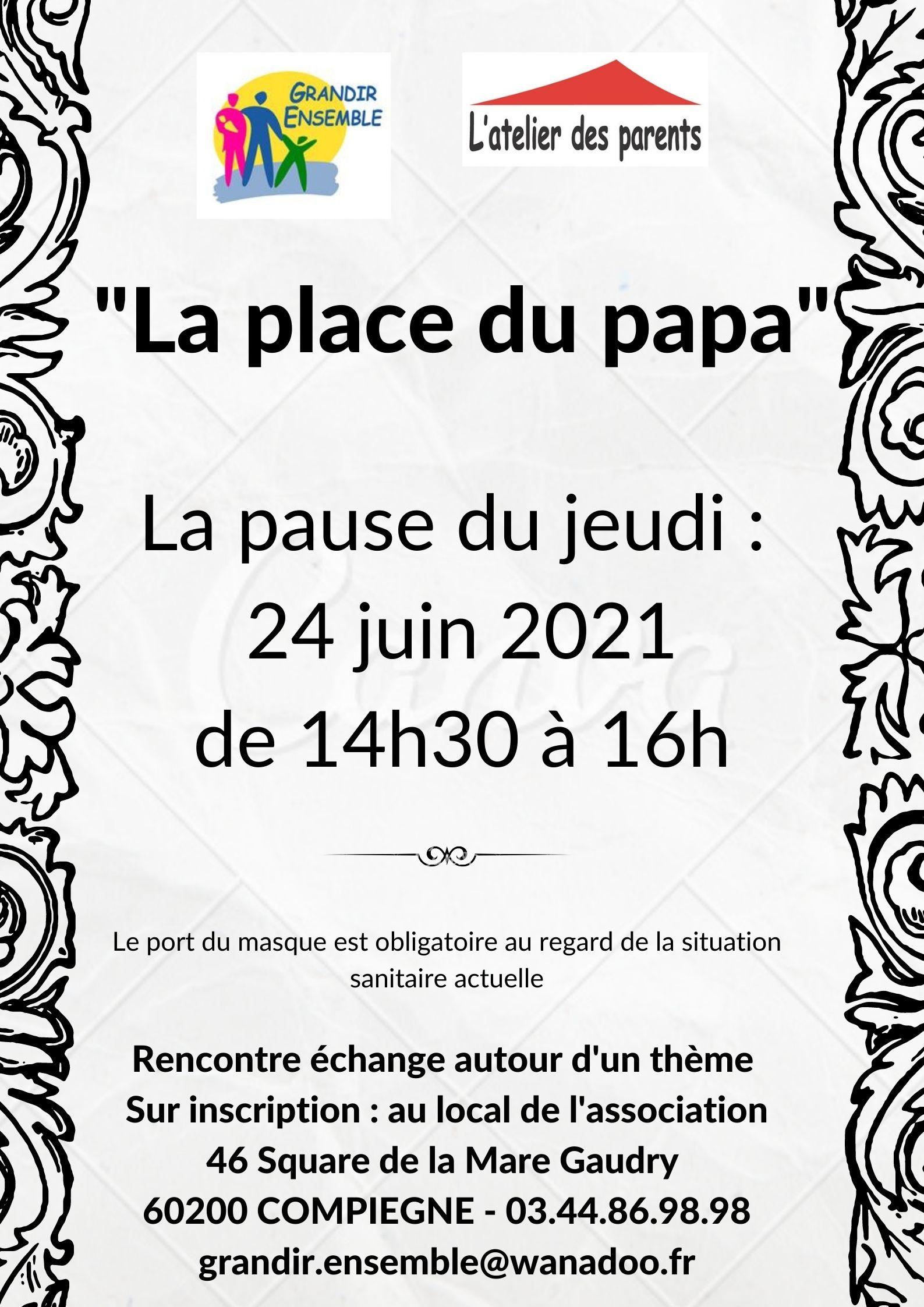 La place du papa du 24 juin 2021