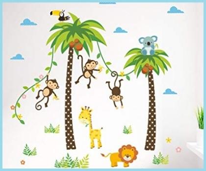 Ad esempio in una stanza dal design tradizionale o classico, dove regnano. Adesivi Murali Bambini Grandi Sconti Adesivi