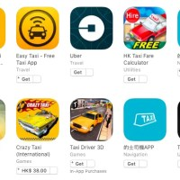 手機App不能拯救香港的士業