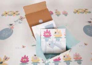 A Timeless Keepsake packaging