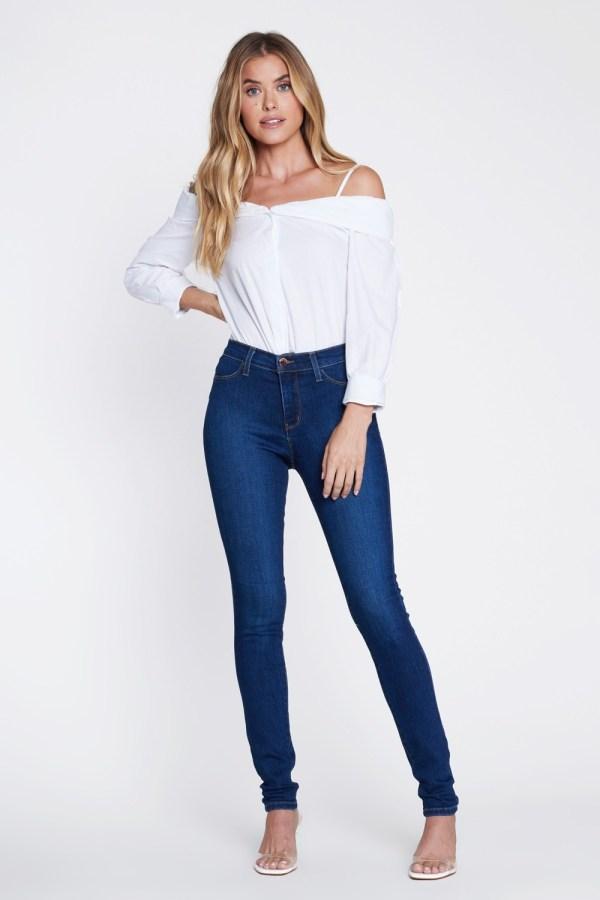 Jeans Dama Vibrant P1641plus Grand Mall