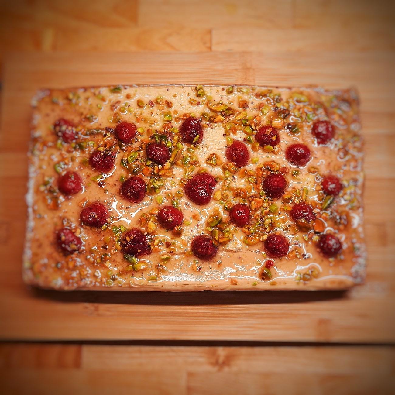 Vegan Raw-ish Cake