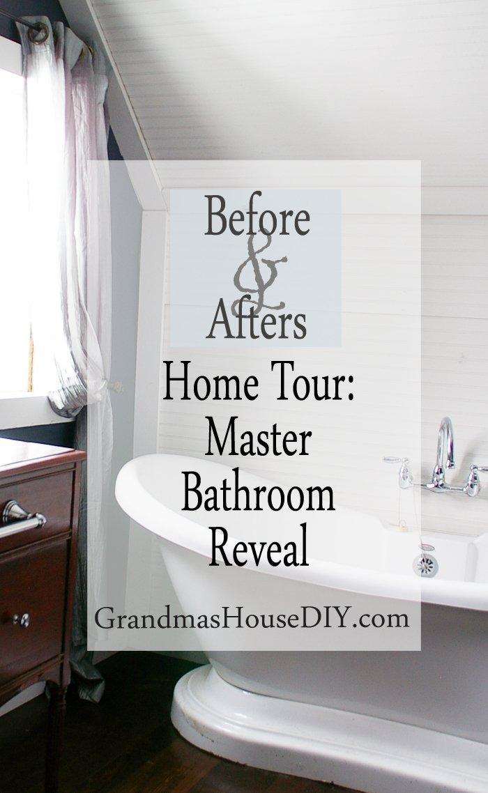 Home Tour: Master Bathroom Reveal by Grandma's House DIY