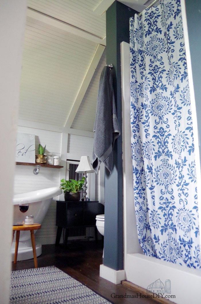 master bathroom refresh bohemiam style