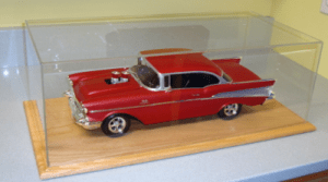 model display car case