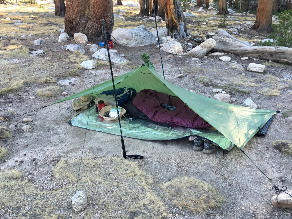 Ultralight gear saves wear and tear on the body as you hike—but at what cost? Photo credit: Brien Crothers