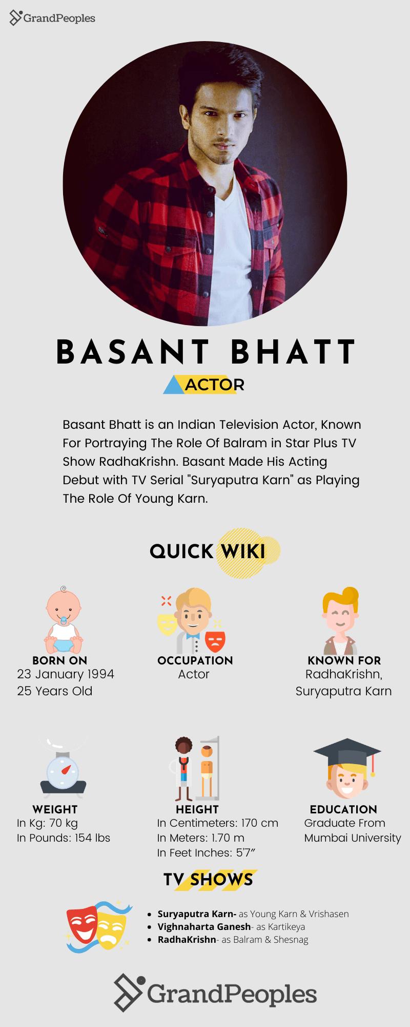basant bhatt wiki