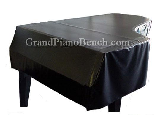 Yamaha Black Vinyl Grand Piano Cover For Yamaha C3 6 1