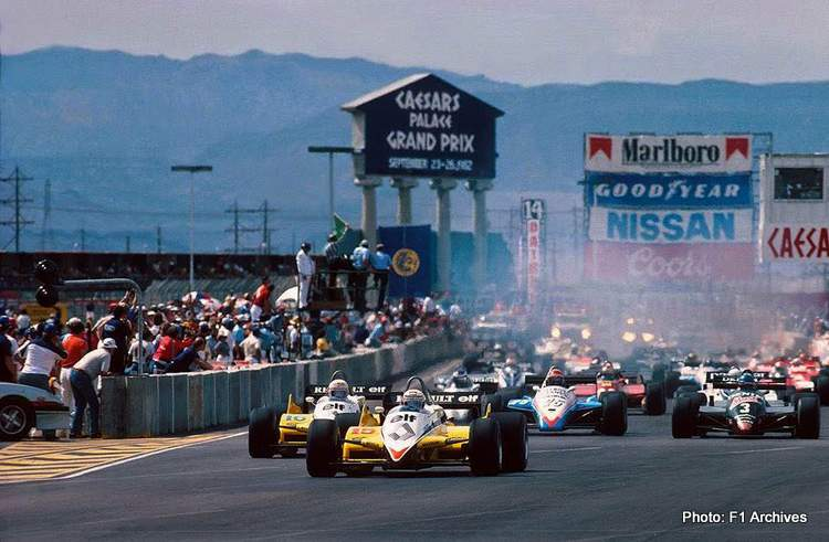 Flashback: When Formula 1 lost big on a Las Vegas gamble