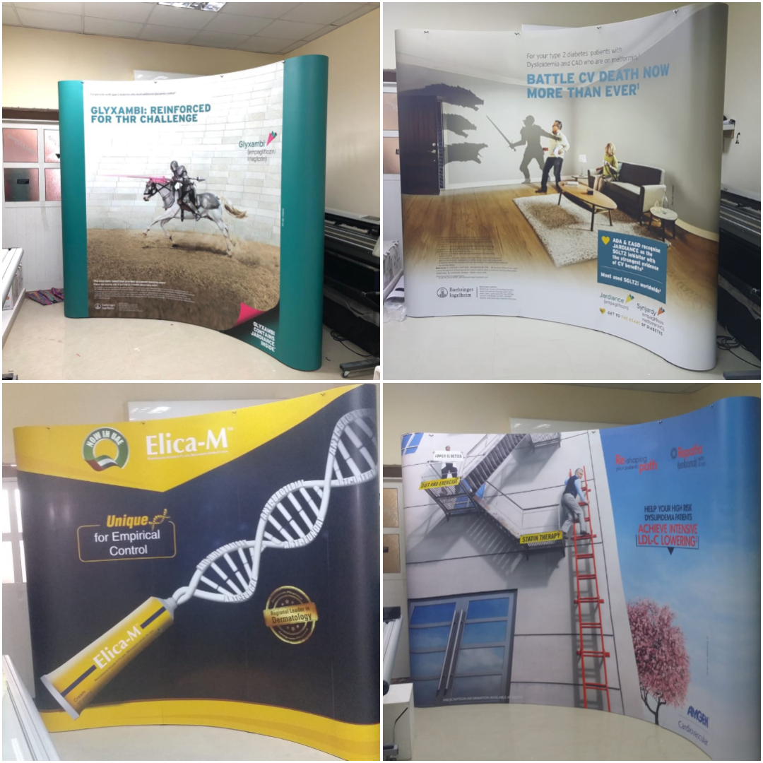 Portable Exhibition Stands Dubai : Portable displays grand radium