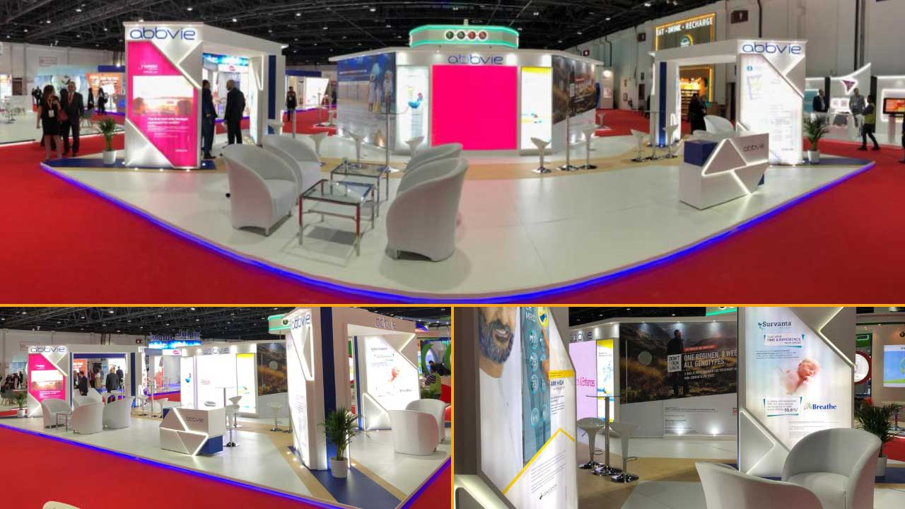 Custom Modular Exhibition Stands : Modular exhibition stands grand radium