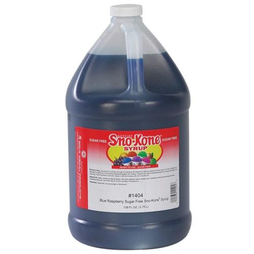 Blue Raspberry Suga Free Sno Cone Syrup