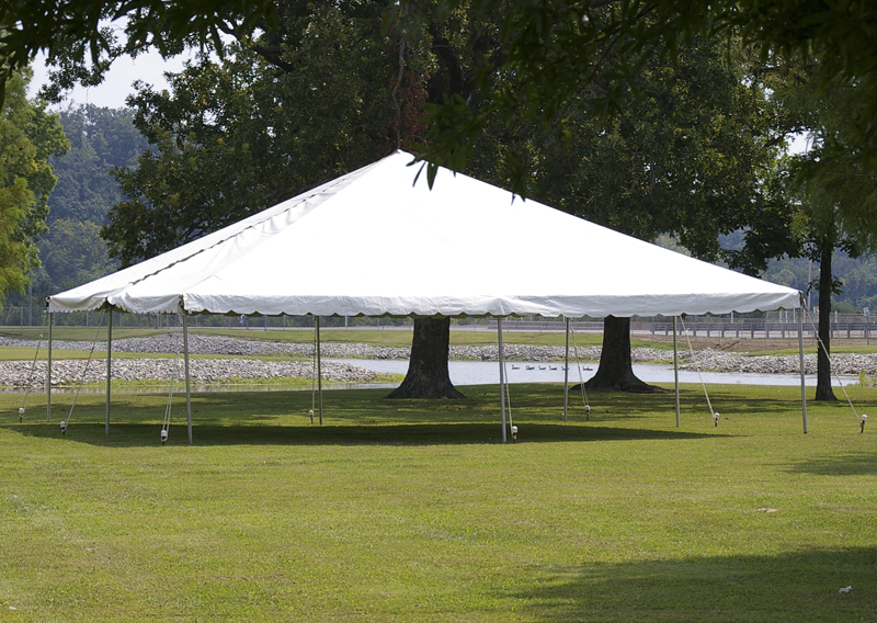 Frame Tent Canopy : Frame or pole tents grand rental station