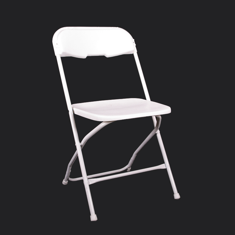 White Folding Chair Rentals