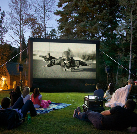 12ft Outdoor Home Theater Screen