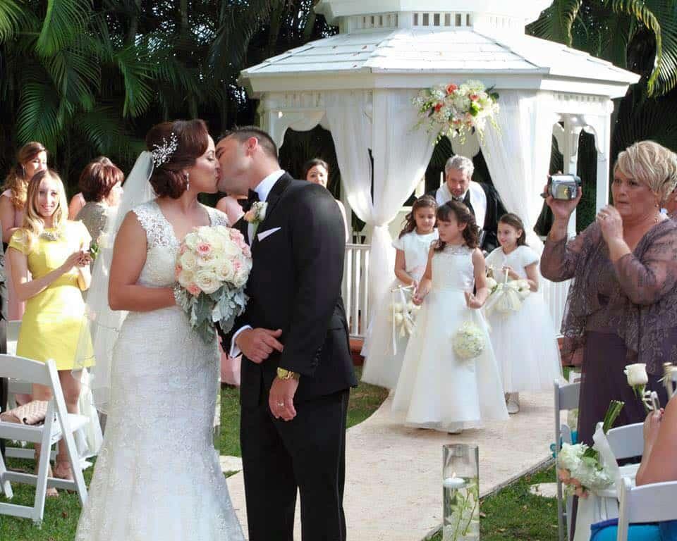 Yelaine Amp Diego Gazebo Ceremony And Wedding Reception