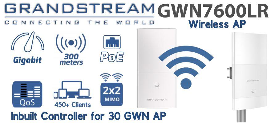 Grandstream GWN7600LR Access Point Dubai