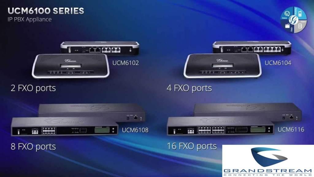 UCM6102 IP PBX