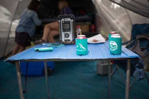 Pitch the tent and get settled in for a unforgettable weekend!