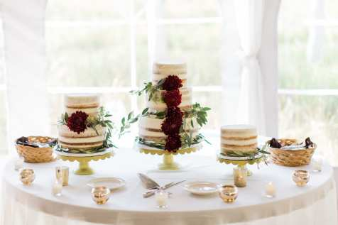 Reception- cake table