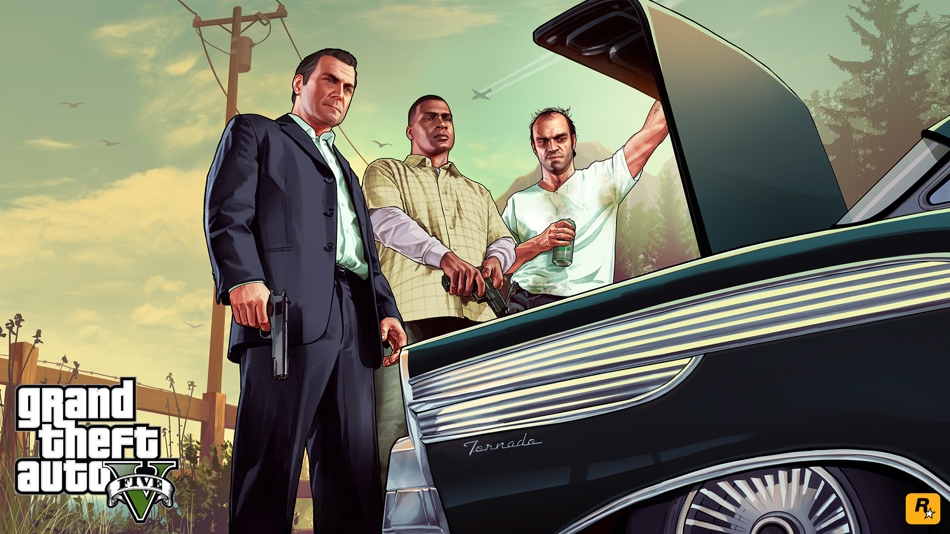 GTA 5 Wallpaper     Greatest collection of Grand Theft Auto V wallpapers     gta 5 trunk 1920x1080 wallpaper