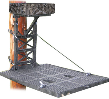 c and c resin true quiet treestand